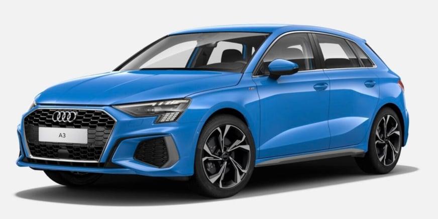 Audi A3 Sporback S line esterni