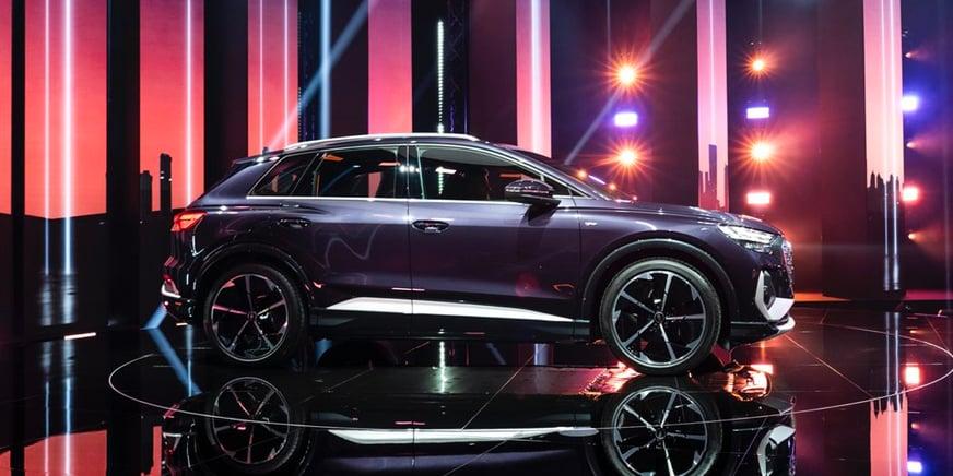 Audi Q4 e-tron presentazione