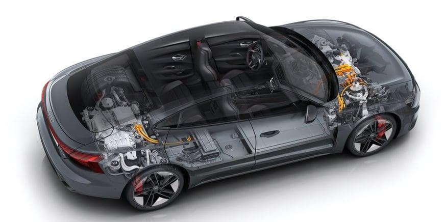 Audi RS e-tron GT batterie