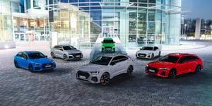 Audi RS, kit per il venticinquesimo anniversario