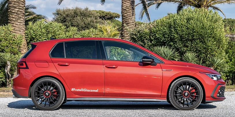 Golf 8 GTI laterale