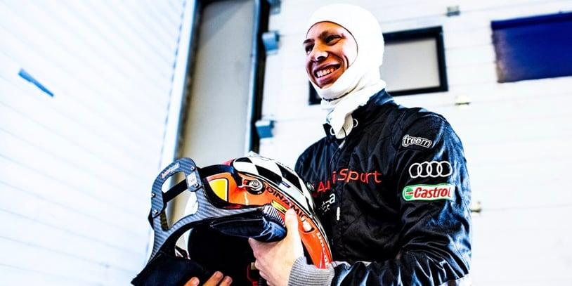 Mattia Drudi pilota Audi