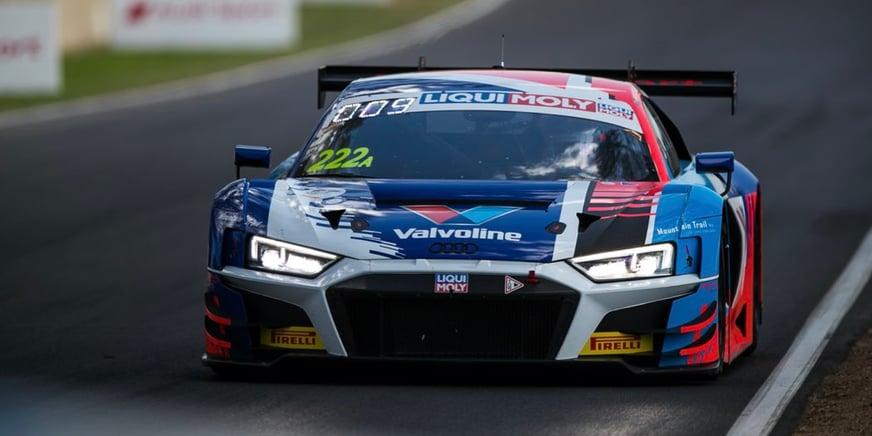 Mattia Drudi in una gara GT