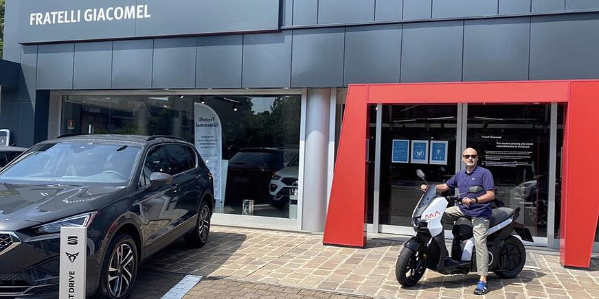 SEAT MO scooter elettrico - Fratelli Giacomel