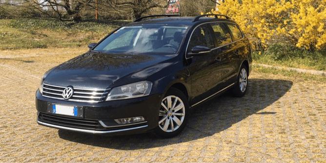 Volkswagen passat da record