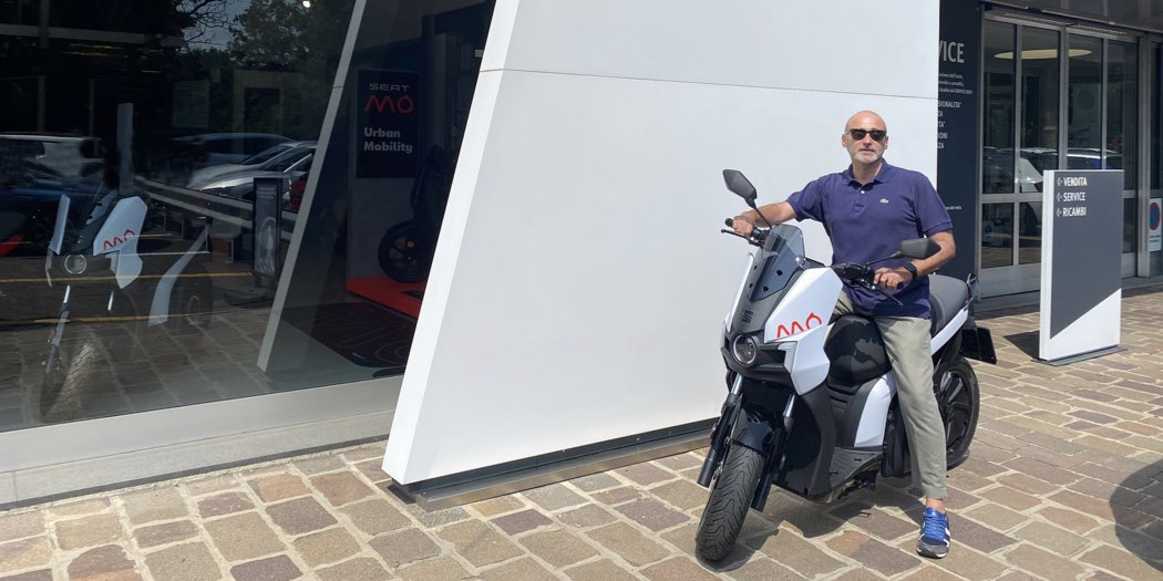 scooter elettrico SEAT MO 125