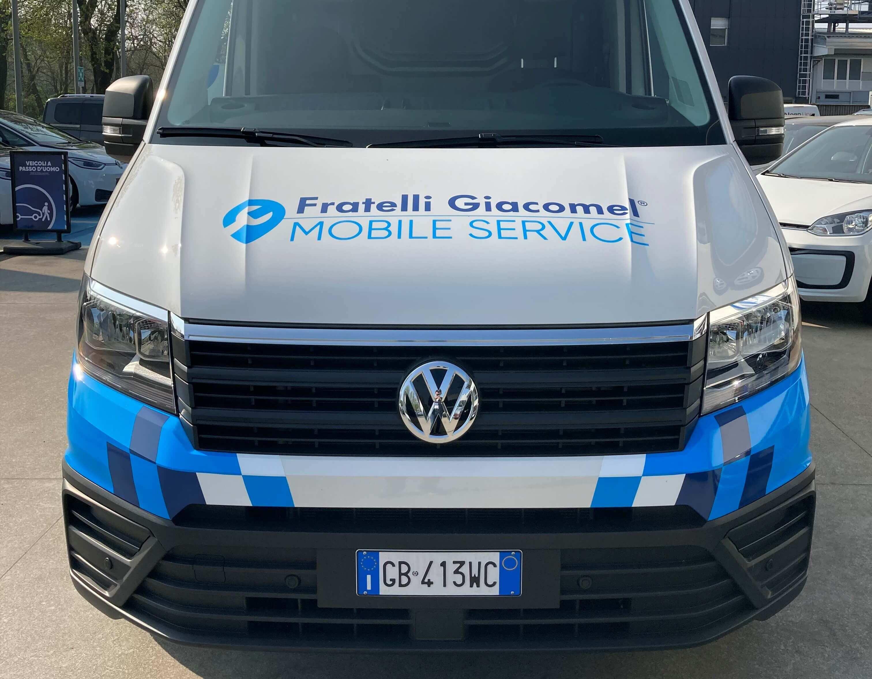 MSU - Mobile Servie Unit - Officina Mobile