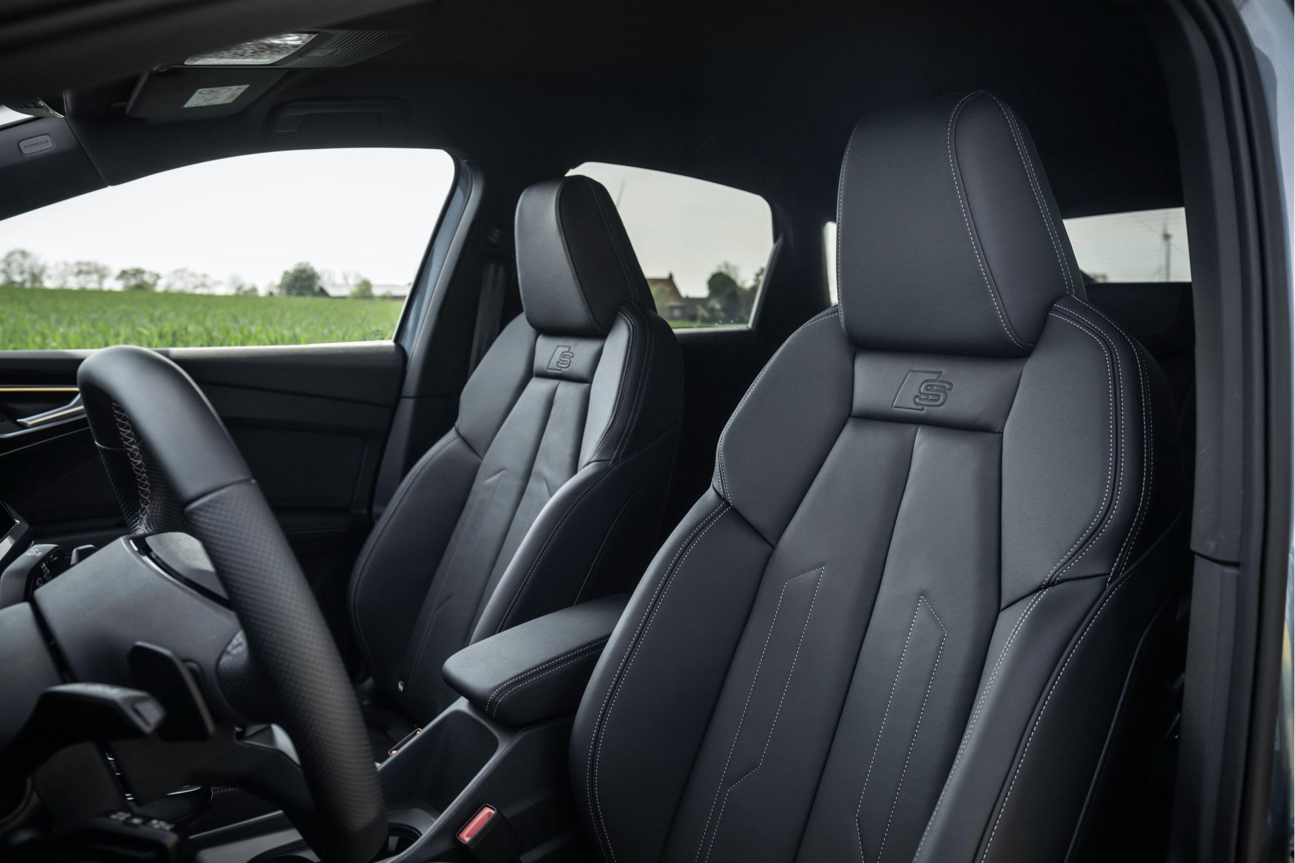 Audi Q4 e-tron sportback sedili