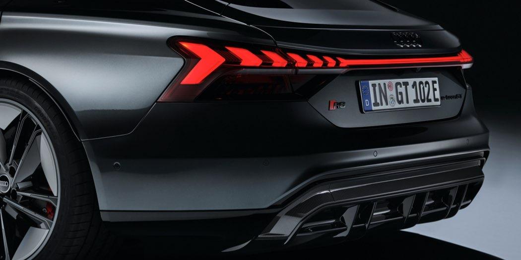 Audi RS e-tron GT dettaglio retro