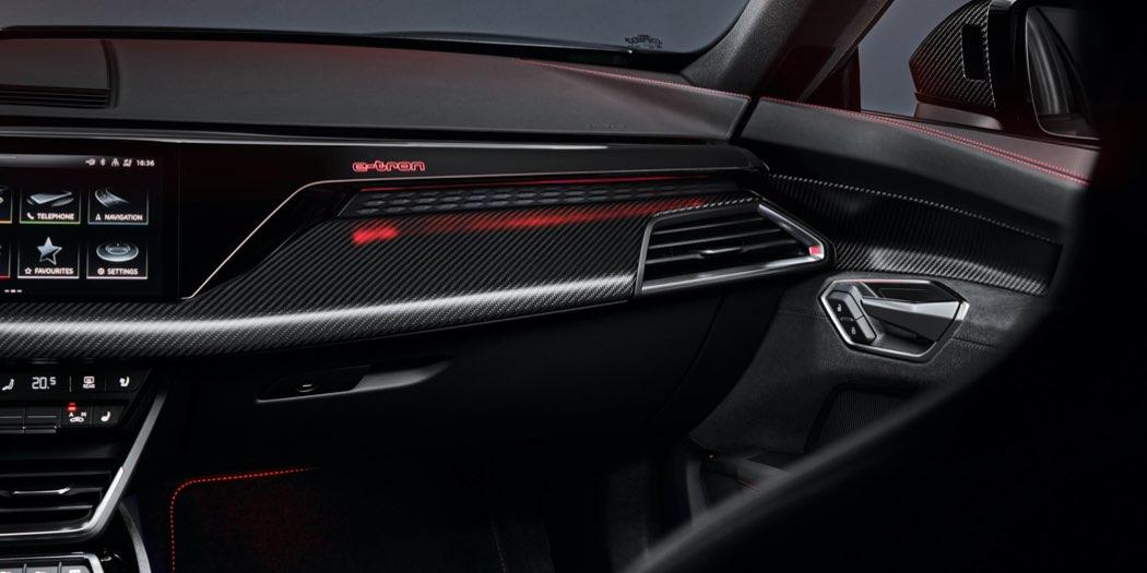 Audi RS e-tron GT interni
