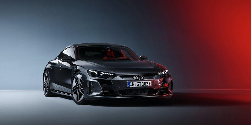 Audi RS e-tron GT presentazione