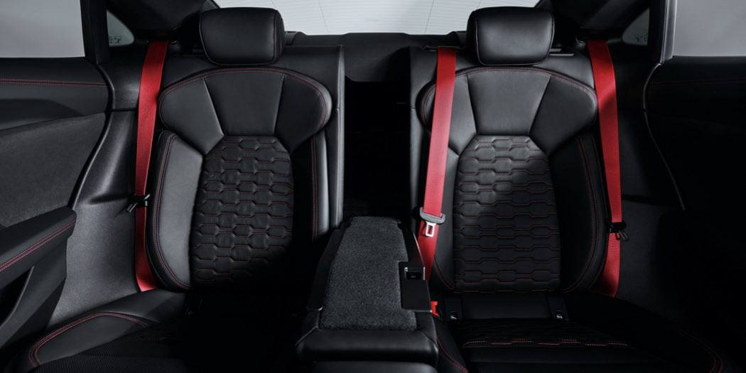 Audi RS e-tron GT sedili posteriori