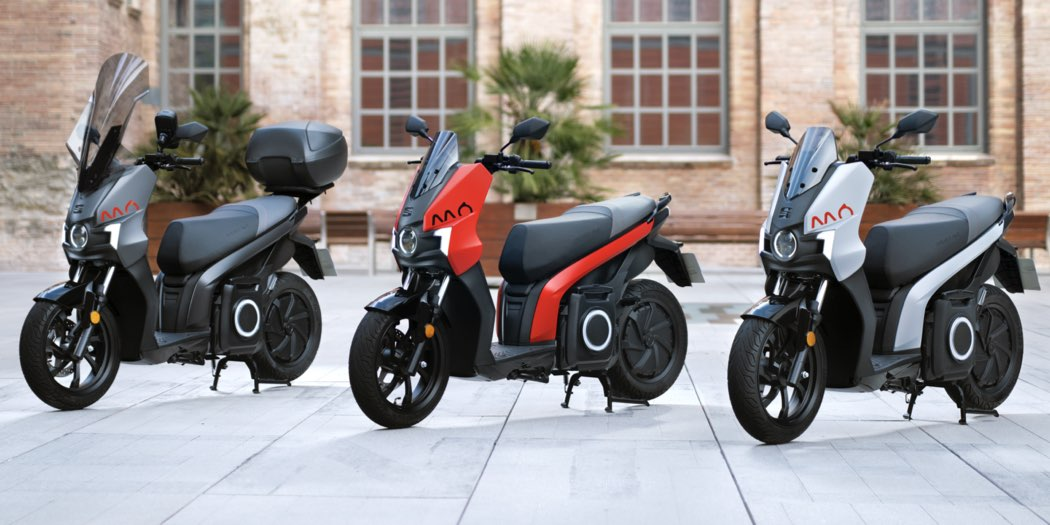 SEAT MÓ 125, scooter elettrico