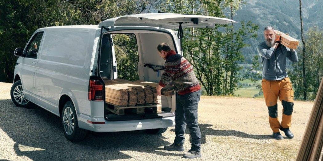 Volkswagen Transporter furgone 6.1