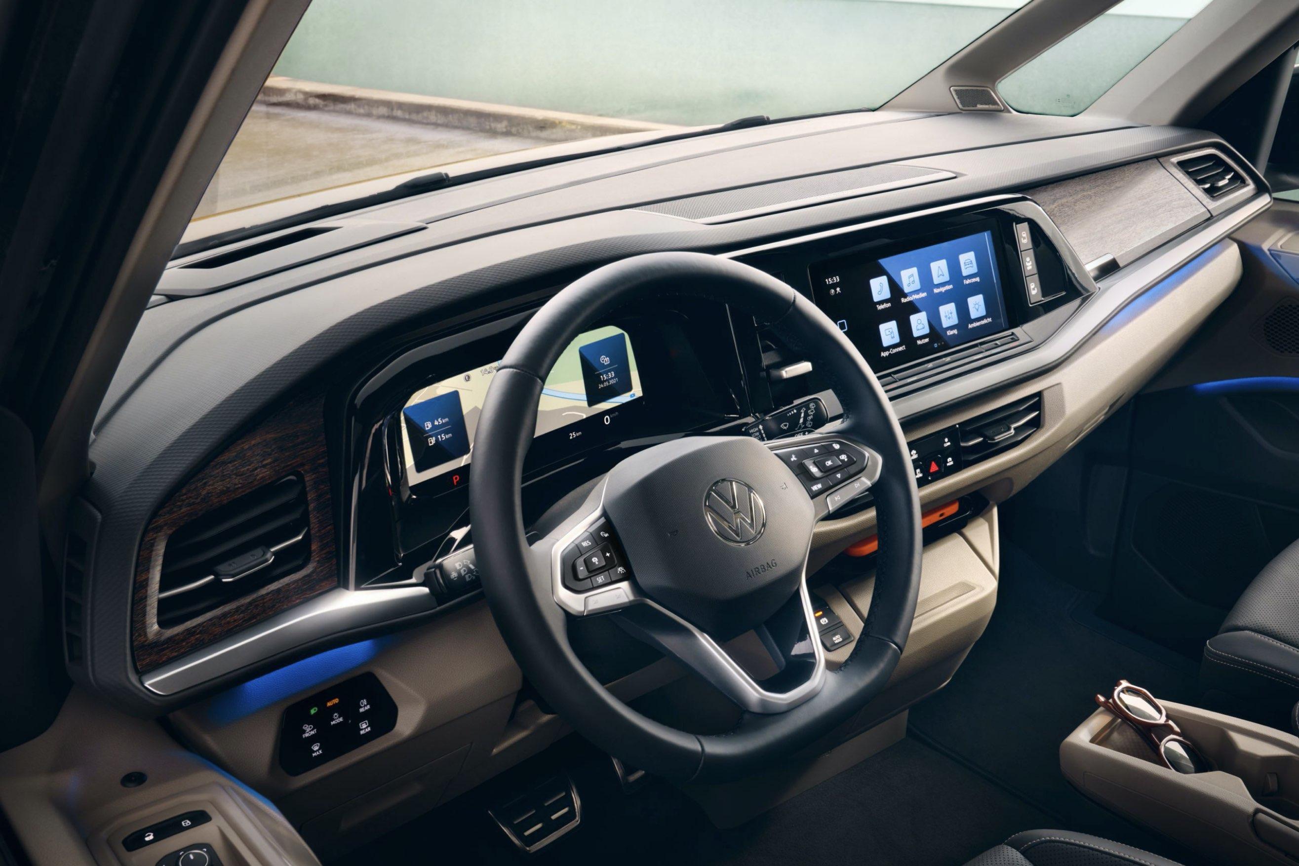 Volkswagen Multivan - plancia