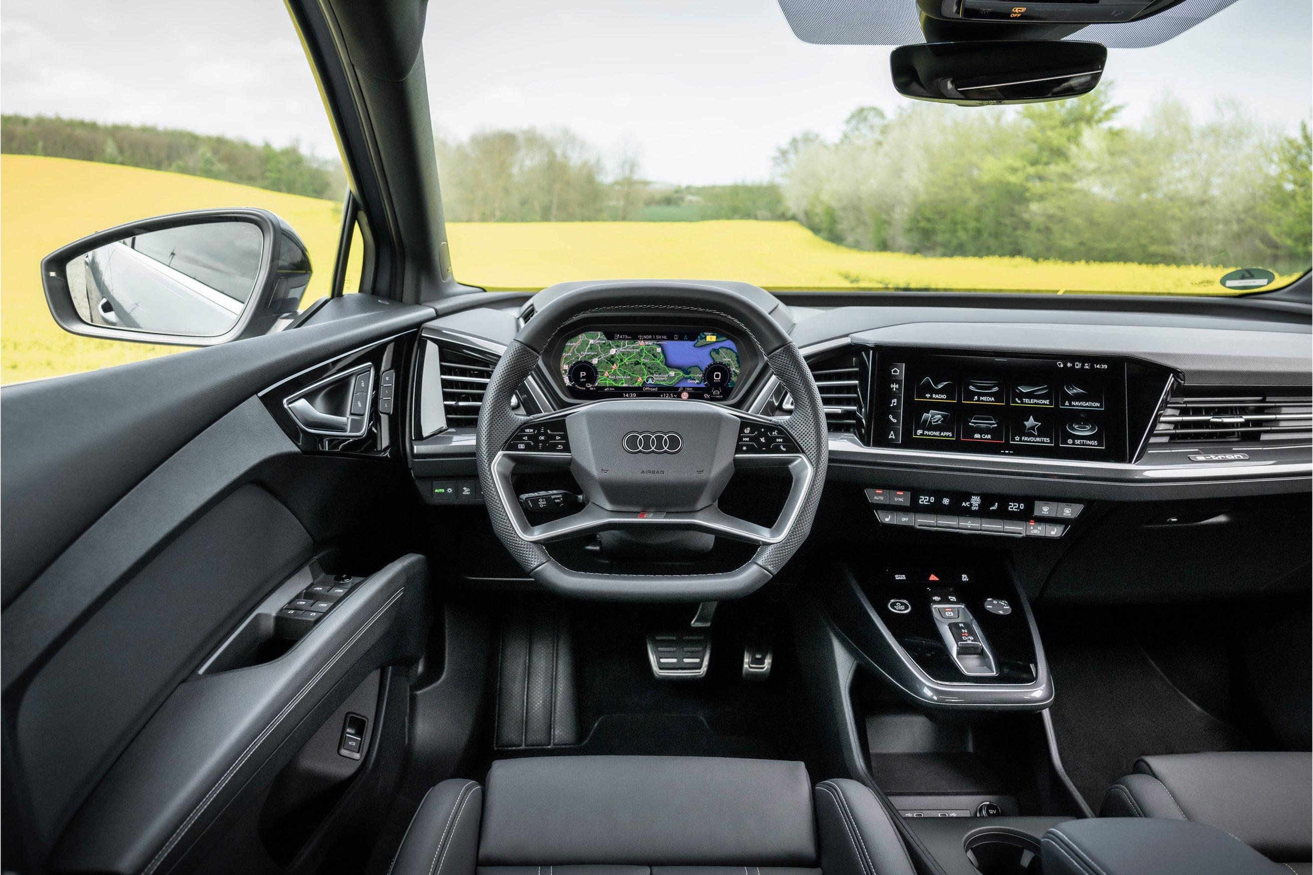 interni Audi Q4 e-tron sportback